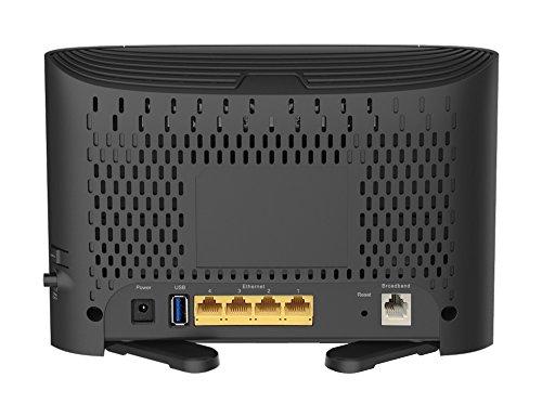 D-Link DSL-3782 Modem Router, Wireless, Dual-Band AC1200 Mbps, VDSL/ADSL, 4 porte LAN 10/100 Fast Ethernet