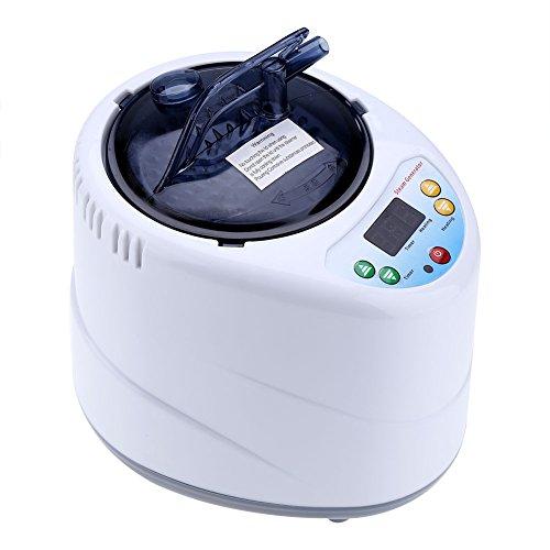 Generador de vapor de 2 litros 1000 vatios con control electrónico y mando a distancia inalámbrico para saunas de vapor portátiles