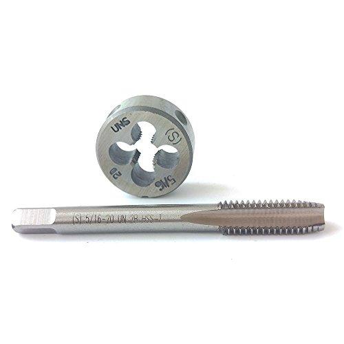 HSS 5/16-20 tap and die Set, Machine Thread Tap And Round Thread Die Right Hand HSS Taper