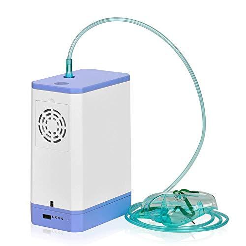 3L Generador de oxígeno portátil para el hogar Máquina Concentrador de oxígeno para Pacientes Ancianos Disnea en pulmón y corazón