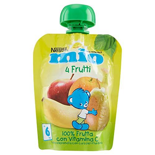 Nestlé Mi Fruta Rallado De Squeeze 4 Frutas 90g