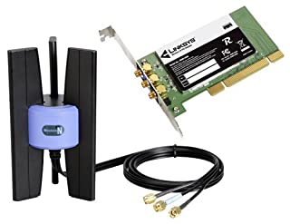 Cisco-Linksys Wireless-N PCI Adapter WMP300N (B000FDDUXG) | Amazon price tracker / tracking, Amazon price history charts, Amazon price watches, Amazon price drop alerts