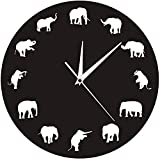 SGSG Relojes de sobremesa de Madera Reloj de Mesa de péndulo mecánico...