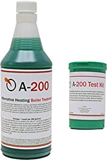 A200 (Boiler Treatment) and A200 Test Kit -A200 Indictator #1 (Outdoor Boiler Water Treatment with Rust Inhibitor and Test Kit)