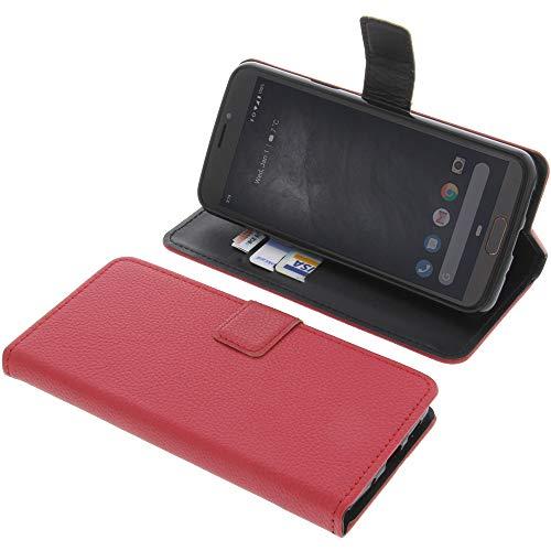 Tasche für Doro 8080 Book Style rot Schutz Hülle Buch