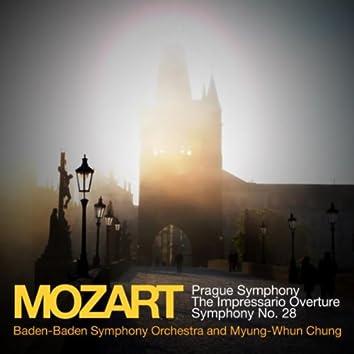 Mozart: Prague Symphony, The Impressario Overture, Symphony No. 28