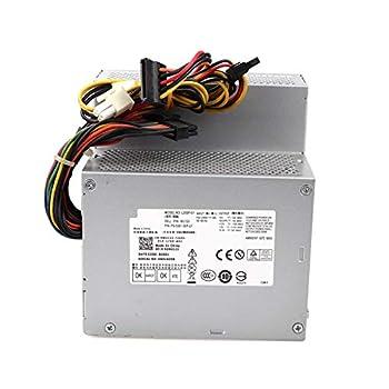 Zoravson 255W F255E-01 N249M Power Supply Replacement for Dell Optiplex 580 760 780 960 980 DT PSU AC255AD-00 L255P-01 D255P-00 V6V76 RM110