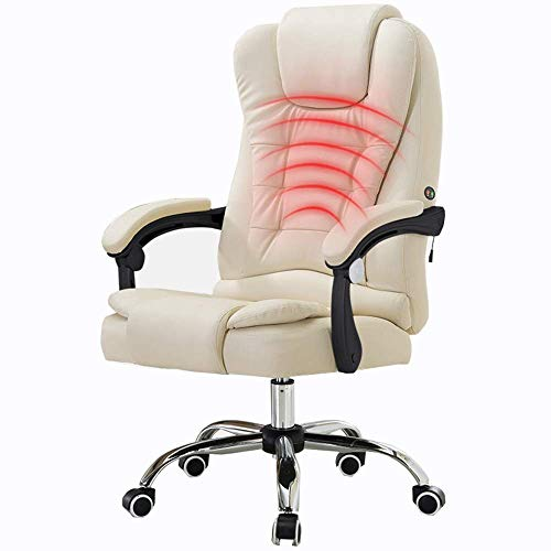 aipipl Cozy Computer Chair Office Chair Adopts Flame Retardant Organic Polymer Foam Tilt Function Waist Massage Ergonomic Home Pu Backupoffice Executive Swivel Leather
