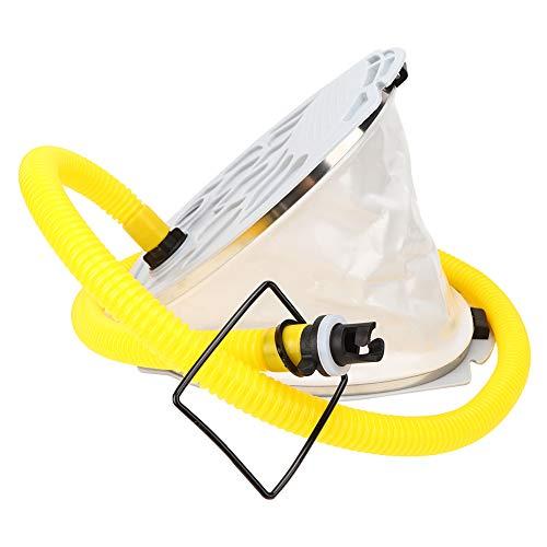 LZKW Bomba de Aire Inflador Bomba de pie, Bomba de Bote, Bomba de plástico Compacto Portátil para Pesca Bote Inflable Bote de Goma