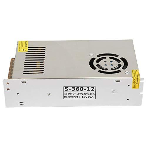 Schakelende voeding, industriële systemen DC 12V 30A LED-schakelende voeding driver adapter