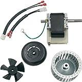 Supplying Demand 318984-753 Draft Inducer Motor Kit With LA11AA005 Wheel