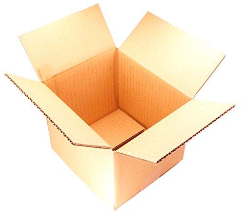 【 日本製 】 ダンボール (段ボール) 20枚セット 60サイズ 引越し 梱包 収納 箱 (20.5×19×18cm) A2-20