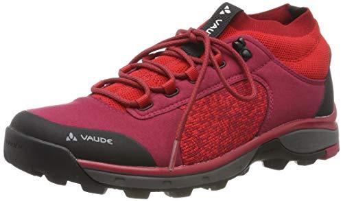VAUDE Damen Women's HKG Citus Trekking- & Wanderhalbschuhe, rot (red Cluster 928), 37.5 EU