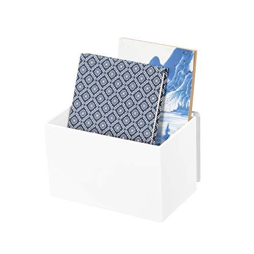 Compactor Rangement Boîte de rangement auto-adhésive, Blanc, XS, 16 x 10,2 x H 10 cm, RAN7161