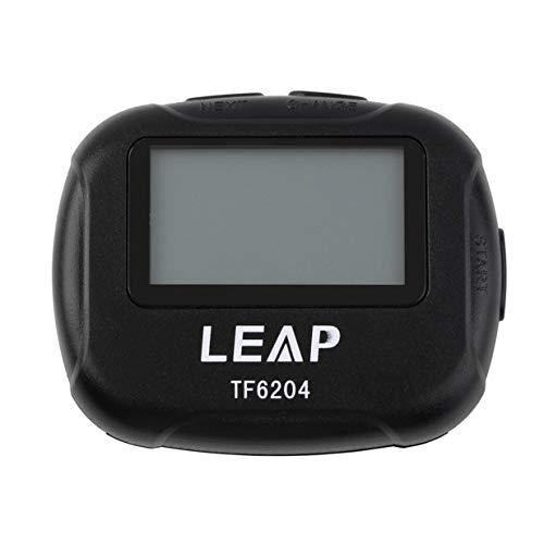Kurphy TF6204 - Cronómetro de intervalos para deportes de crossfit, yoga, cronómetro, cronómetro, cronógrafo, color negro