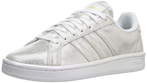 adidas Grand Court, Zapatillas de Tenis Mujer, FTWBLA/FTWBLA/GRIPAL, 36 2/3 EU