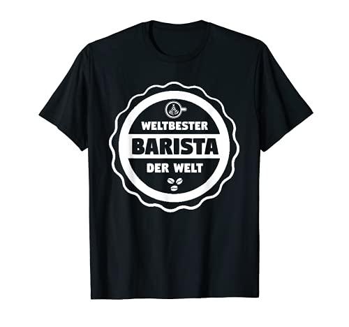 Barista Machine à café avec porte-filtre T-Shirt