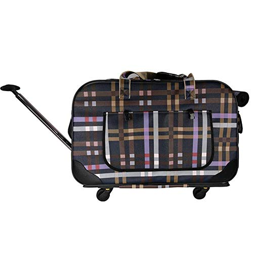 DC Wesley Pet Out Trolley Case, Pet Trolley Dog Going Out Travel Portable Trolley Bag Large Pet Travel Box