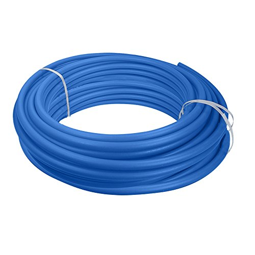 Supply Giant QGX-C34500 PEX Tubing for Potable Water, Non-Barrier Pipe 3/4 in. x 500 Feet, Blue, 3/4 Inch