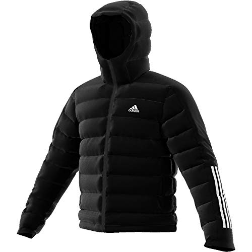 adidas Herren Itavic 3-Stripes 2.0 Jacke, Black, L