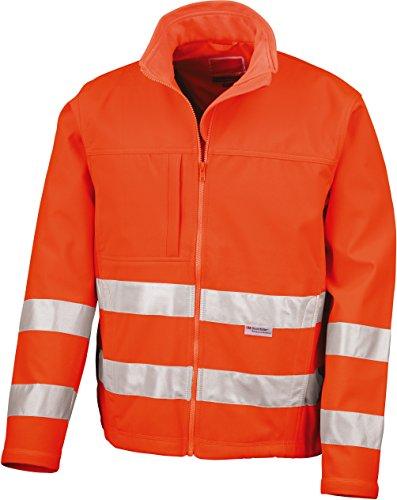Résultat R117 a Core High-viz Softshell pour Homme L Orange