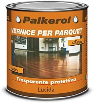 VELECA-Pintura para parquet, 0,75 litros, marrón