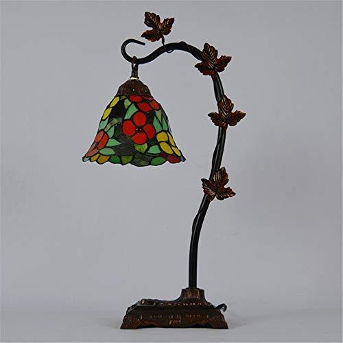 Tiffany Stijl Bureaulamp Lavendel Gebrandschilderd Tafellamp, 8 Inch Voor Woonkamer Slaapkamer Dressoir Boekenkast Salontafel Naast Lezen,Td08185152