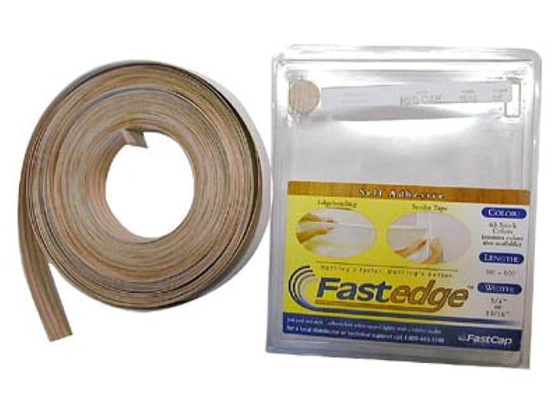 FastCap FastEdge Peel & Stick Edge Tape 250' Roll PVC Hardrock Maple