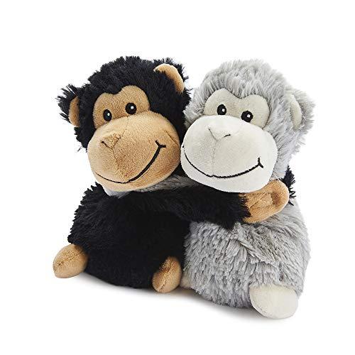 Warmies Umarmungen Affen Weich Spielzeug Grau und Schwarz, 0.53 KG