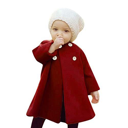 BeautyTop BeautyTop Baby Kinder Mädchen Winterjacke Wintermantel Steppmantel Steppjacke mit Ohr Kapuze Kinder Jacken Kaninchen Prinzessin Warm Winterparka Übergangsjacke Outwear(0-4Jahre)