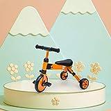 YWAWJ Selección torcer Regalo del Muchacho del cumpleaños de Equilibrio del Coche Vespa Plegable Triciclo 1-6 años del Paseo Juguetes Viejos niños y Chicas Toy Cars 3 Opciones de Color