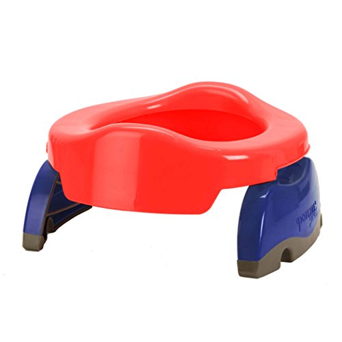 Price comparison product image Kalencom Potette Plus 2-in-1 Travel Potty Trainer Seat Red
