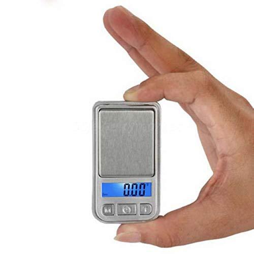 Báscula Digital De Bolsillo La Balanza Micro Mini Joyas Más Pequeña Balance 200G / 100G 0 01G Báscula Digital De Bolsillo Gold Gram Electronic Weight Scale-0.01G_X_100G