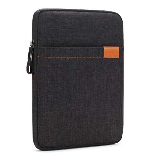Nidoo - Funda de protección para tablet de 8 pulgadas, impermeable, para iPad Mini 5, Samsung Galaxy Tab S2, Lenovo Tab 4 Plus, Lenovo Tab3, Huawei MediaPad M5, color negro