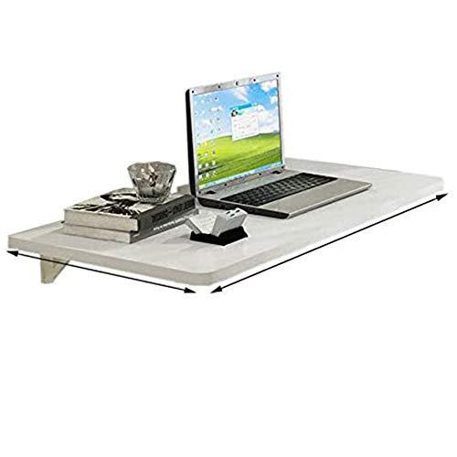 TRGCJGH Folding Wall-Mounted Table, Folding Computer Table Dining Table Wall Shelf, Heavy Duty Bracket,120 * 50cm/47.2 * 19.7in