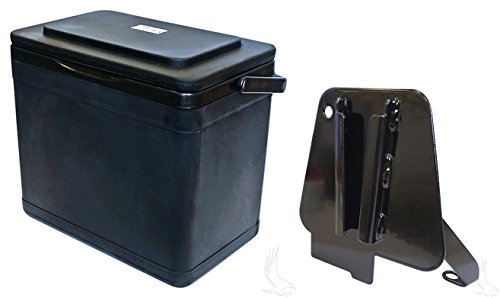 RHOX Insulated Large Capacity 11.75 Quart Cooler for Club Car Precedent/Onward Driver Side Mount