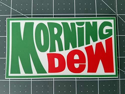 Morning Dew 5' x 2.75' Die Cut Decal - Dead Sticker