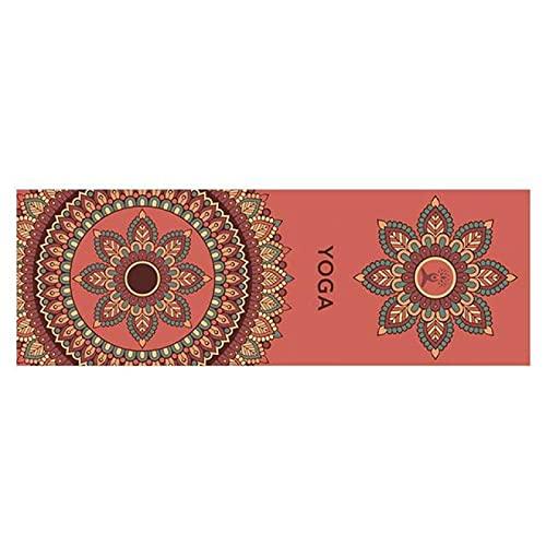 lgnoran Estera De Yoga con Impresión De 185 Cm X 63 Cm De Doble Capa, Antideslizante, Práctica De Yoga, Estera