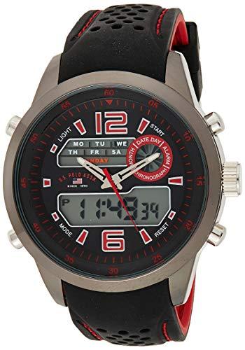U.S. Polo Assn. Sport US9507 Reloj analógico de Cuarzo con Pantalla analógica, Digital, Dos Tonos