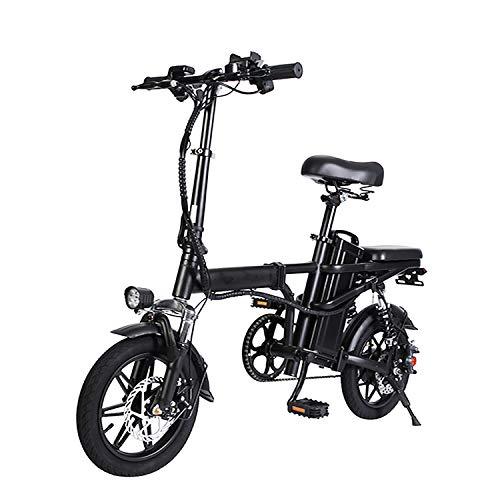 De Plegado De Bicicleta Eléctrica Mujer En Bicicleta, Bicicleta Eléctrica 250W Motor,...
