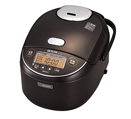 象印 1升炊き 炊飯器 圧力IH炊飯ジャー 極め炊き NP-ZG18-TD ダークブラウン