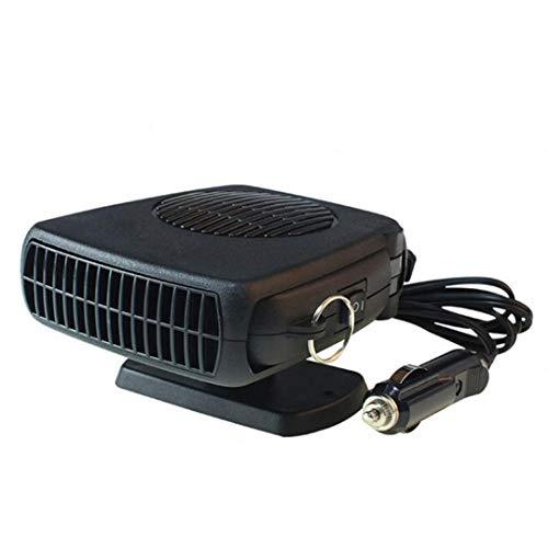Calefactor eléctrico para coche, minicalefactor eléctrico, puede eliminar gotas de agua en...