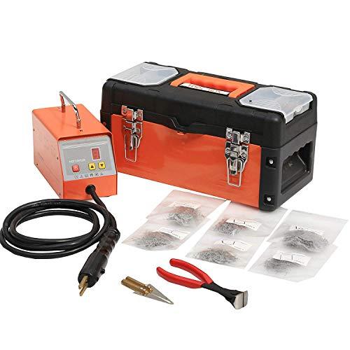 Kit de réparation pour agrafeuse à chaud en plastique avec 600 agrafes, kit de réparation de pare-chocs, 220 V