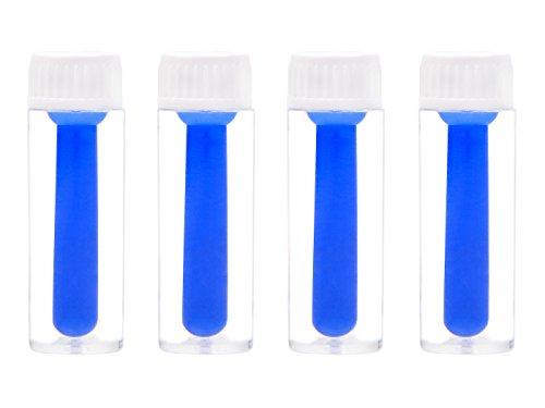 4 piezas Ventosa para Lentes de Contacto de Silicona,Succionador Lentillas para Lentillas Duras (RGP),inserción y extracción
