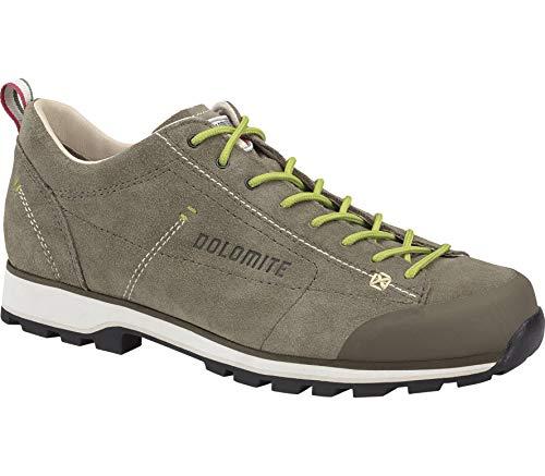 DOLOMITE Zapato Cinquantaquattro Low, Zapatillas de Senderismo Unisex Adulto, Marron MUD/Verde