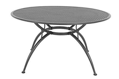 MWH Das Original FTST90180 Esstisch, Table Royal Amboise, grau