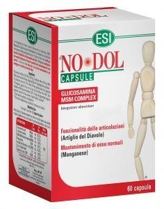 ESI no DOL 60 CAPSULES nodol x joint flexibility with glucosamine no gluten by ESI