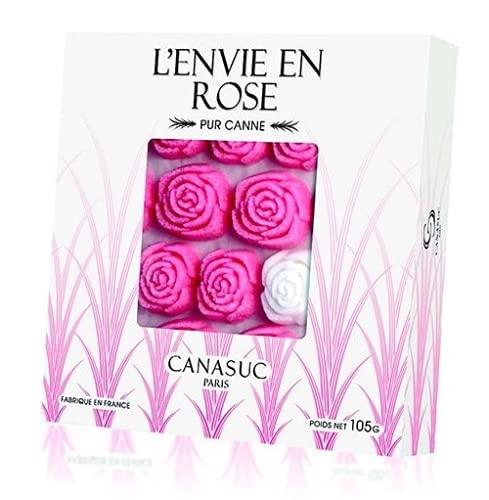 Canasuc 36 Zollette di Zucchero a Forma di Rosa - 1 x 105 Grammi