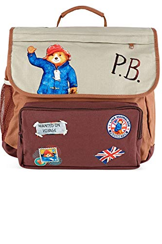 Official Paddington Bear Backpack Suitcase | Adventures of Paddington Bear TV Nick Jr | School Bags for Girls or Boys 3 4 5 6 7 8 9 Year Olds