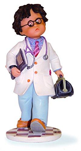 Nadal Ya Soy Medico Grande Figura Decorativa, Resina, Multicolor, 11.70x11.00x21.00 cm
